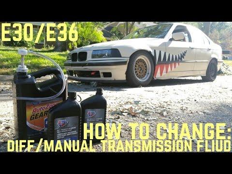 E36 m3 Manual Transmission fluid