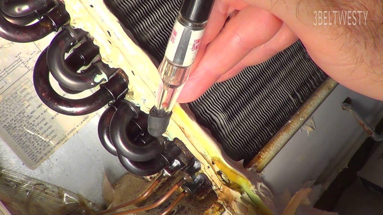 Freon Leak Repair Car