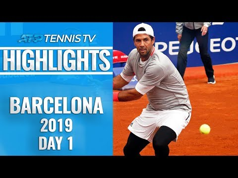 Verdasco overcomes Lopez; Schwartzman sets up Thiem showdown | Barcelona 2019 Day One Highlights
