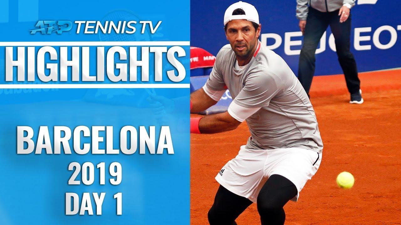 Verdasco overcomes Lopez; Schwartzman sets up Thiem showdown | Barcelona 2019 Highlights Day 1