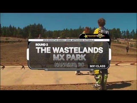2015 Rockstar Energy Drink MX Nationals Round 2 - MX1 Class