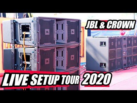 Live Setup Tour With Full Details | JBL & CROWN Setup 2020