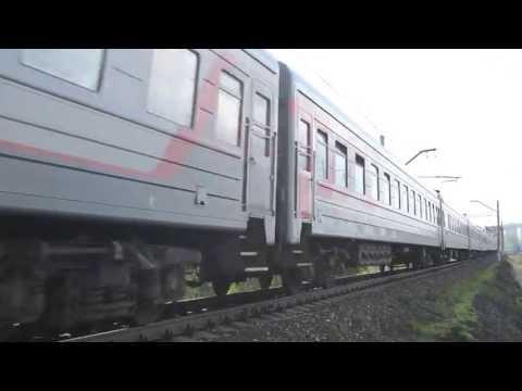 ЭП2К-092 с поездом №92 Москва - Северобайкальск
