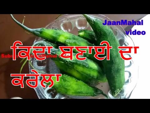 Karela Stuffed  Recipe  in punjabi  How To Make Bharwa Karela ਕਰੇਲਾ