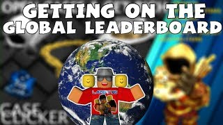 [Roblox] Case Clicker: GETTING ON THE GLOBAL LEVEL LEADERBOARD!!! (MISSIONS, GEMS & MORE)
