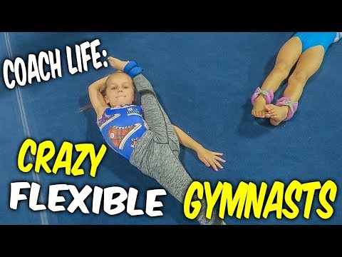 Coach Life: Crazy Flexible Gymnasts!| Rachel Marie