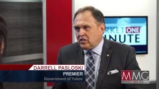 Darrell Pasloski at the Vancouver Resource Investment Conference interviewed by Leanna Haakons.