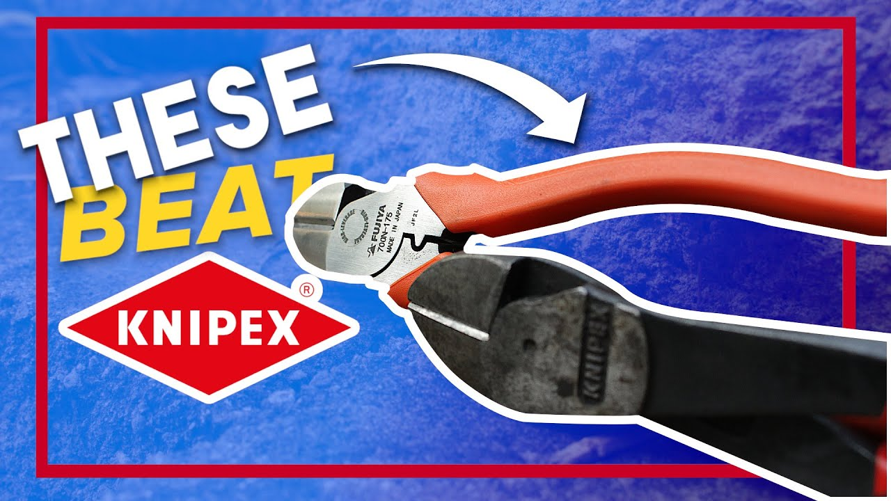 Download These REALLY cut better than KNIPEX. Fujiya Diagonal cutters