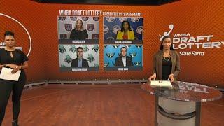 WNBA Draft Lottery 2021 Reveal