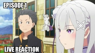 Re:ZERO Abridged - Episode 1 Reaction (Link to the video in the description)