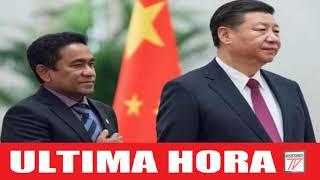 China pierde su presidente en Maldivas