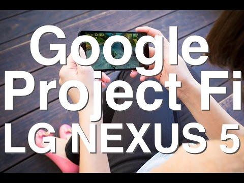 Google Project Fi Works With Nexus 5 Unlocked