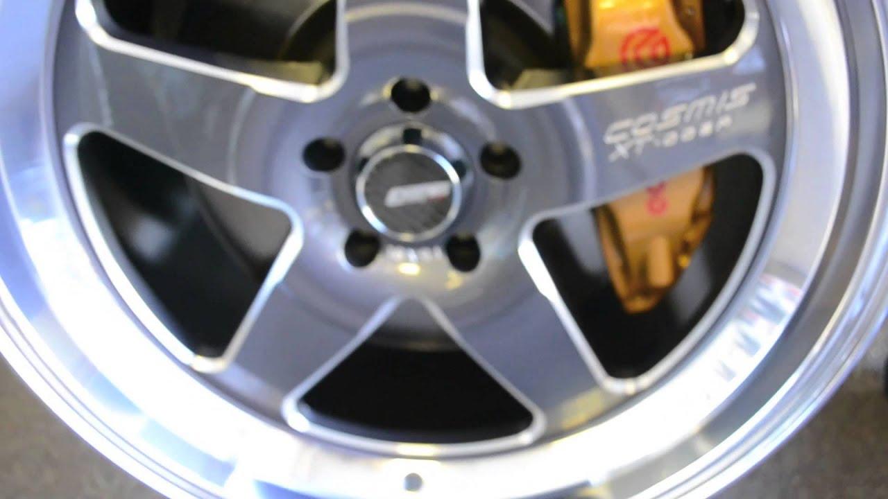 New Cosmis Racing Wheels Xt 005r Youtube