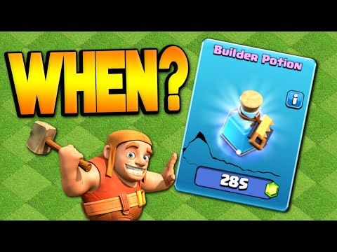 WHEN TO USE A BUILDER POTION | Fix That Engineer | Clash Of Clans