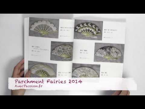 Livre Parchment Fairies 2014 pour Pergamano et Parchment Craft