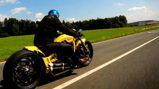 "😈 #Harley-Davidson® #Breakout ""Silverstone"" by #Thunderbike customs"