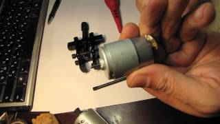 Моторчик от принтера для сверлилки
