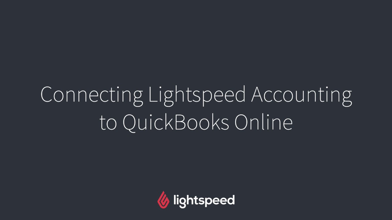 Connecting Lightspeed Accounting to your Accounting Software