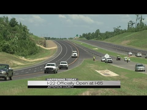 I-22 officially open at I-65