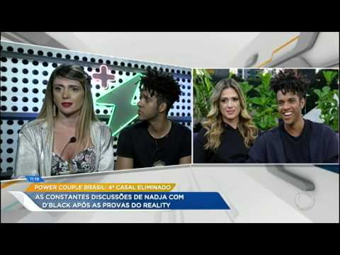 Relembre as discussões de Nadja e D'Black no Power Couple Brasil