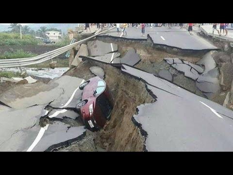 Terremoto En Ecuador 7 8 Youtube