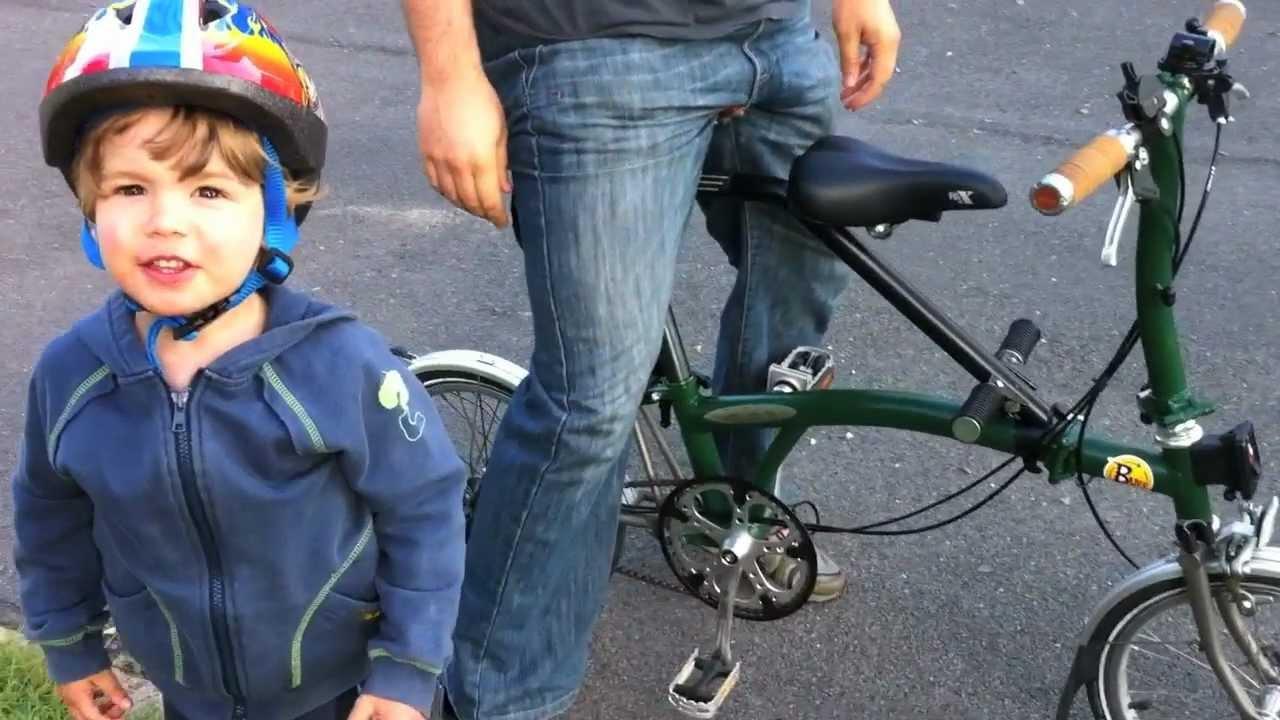 sc 1 st  YouTube & Child Seat for a Brompton Folding Bike - YouTube