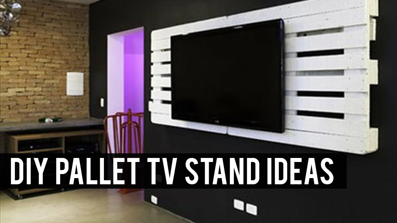 diy pallet tv stand ideas youtube 50 creative diy tv stand ideas for your room interior