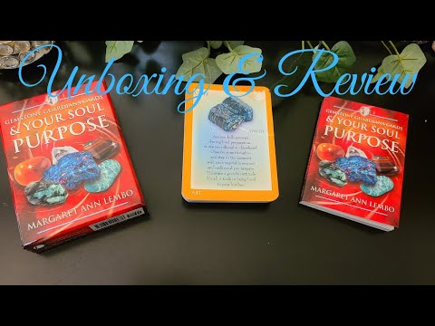 Download Gemstone Guardians & your Soul Purpose Oracle - Unboxing and Review!