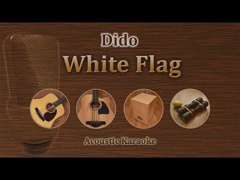 White Flag - Dido (Acoustic Karaoke)
