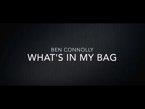 Whats In My Bag With Ben Connolly