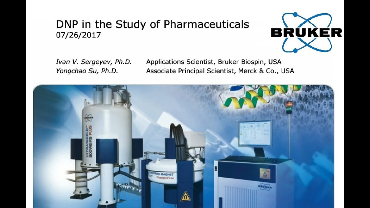 Webinar: Dynamic Nuclear Polarization in the study of pharmaceuticals