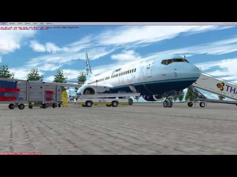 PMDG 737NGX - Phuket (VTSP - HKT) -to- Kuala Lumpur (WMKK - KUL)