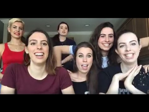 Cimorelli Singing Cover Requests On A Facebook Livestream With Radio One Lebanon (4/05/17)