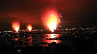 """2012 Big Bay Boom """"Bust"""" San Diego Fireworks Show Fail"""