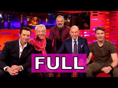 The Graham Norton Show (FULL) S20E20: Hugh Jackman, Patrick Stewart, Ian McKellen, James Blunt.
