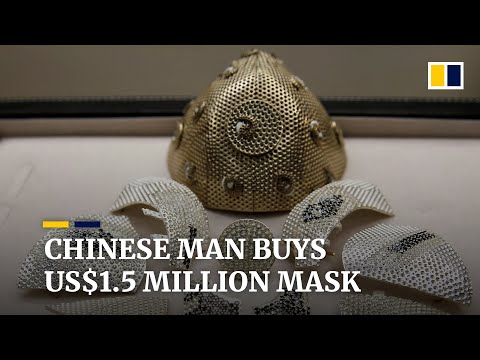 Israeli Jewellery Shop Offers 'world's Most Expensive' Mask With US$1.5 Million Price Tag