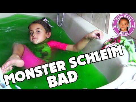 monster-schleim-bad-|-miley-badet-glibbi-slime-monster-high-puppen-|-cutebabymiley