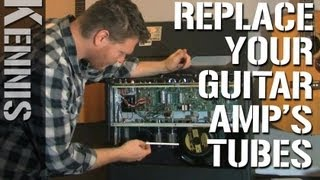 How to Replace Tubes in a Guitar Amp
