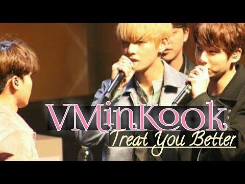 ♥[VMINKOOK/뷔민국] ❝Treat You Better❞【FMV】♥