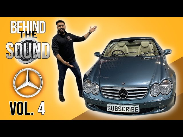 SL500 Discreet Audio Upgrade With INCREDIBLE Bass | Behind The Sound - Mercedes SL500