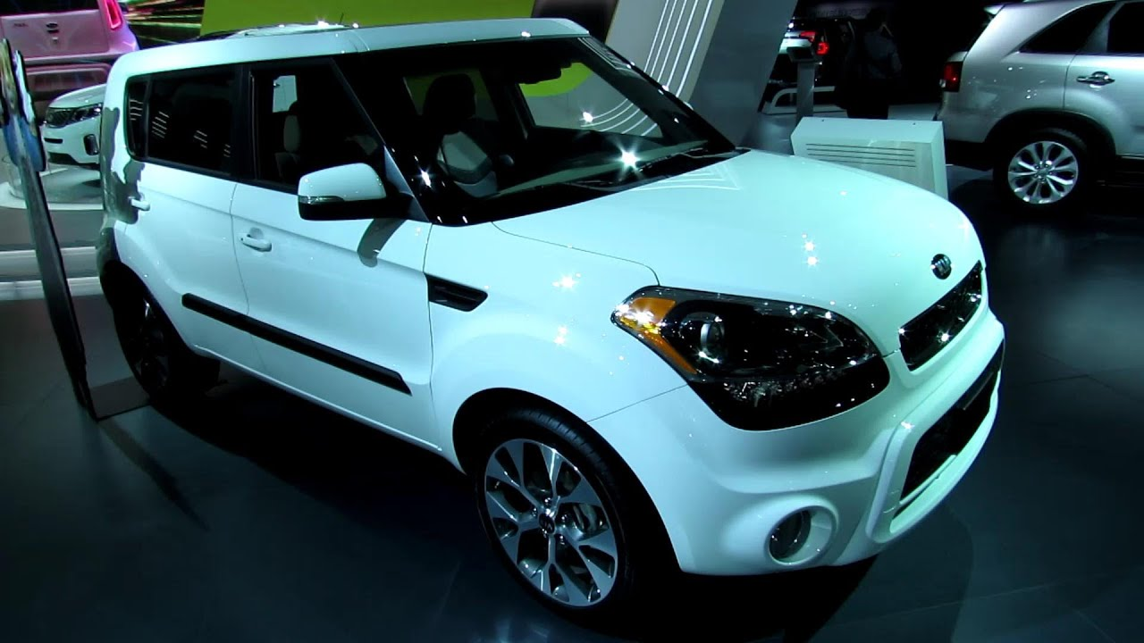 2013 kia soul exterior and interior walkaround 2013 detroit auto show youtube. Black Bedroom Furniture Sets. Home Design Ideas