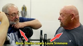 Boris Sheiko meets Louie Simmons / Встреча Борис Шейко и Луи Симмонса