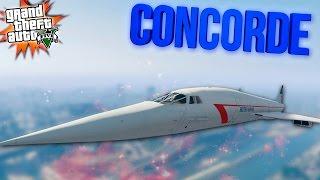 CONCORDE (КОНКОРД) - GTA 5 MODS (МОДЫ ГТА 5)
