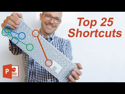 Top 25 Keyboard Shortcuts That Save Time (Microsoft PowerPoint)