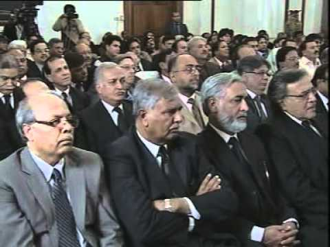 Oath taking Ceremony of Chief Justice Islamabad High Court