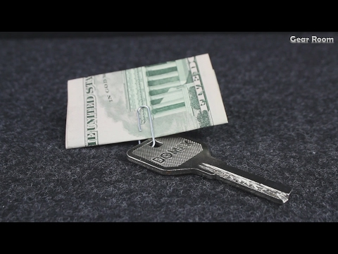Keychain For Money From The Paper Clips