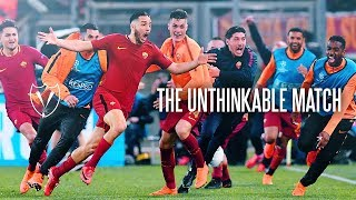 Roma v Barcelona - The Unthinkable Match
