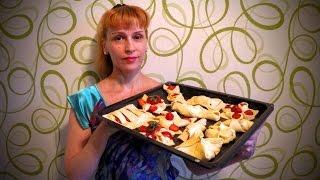 Как сделать булочки из слоеного теста 7 форм для выпечки слойки