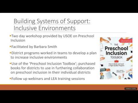 Building Systems of Support in Early Childhood Education