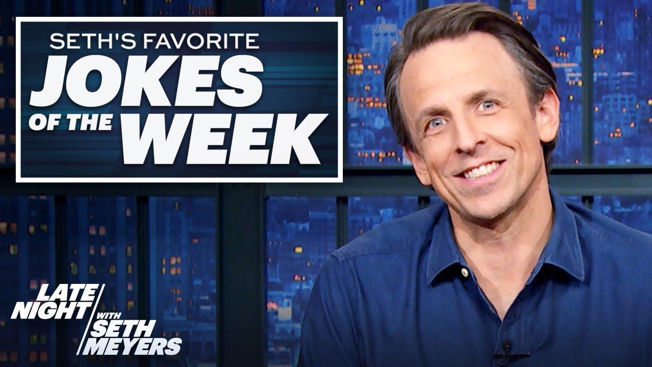 Seth�s Favorite Jokes of the Week: Biden Sworn In, Hot Pockets